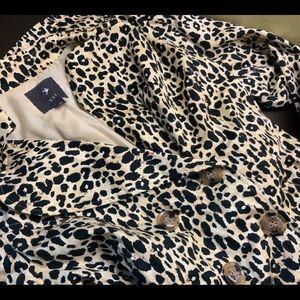 Forever 21 Cheetah Print Coat